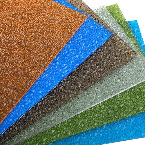 polycarbonate crystal sheets