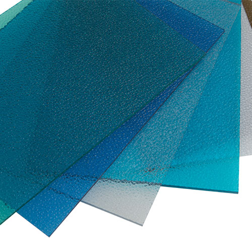 polycarbonate textured sheets