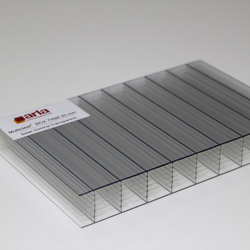 polycarbonate box 7 wall sheet