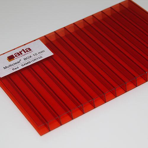 polycarbonate box 2 wall sheets