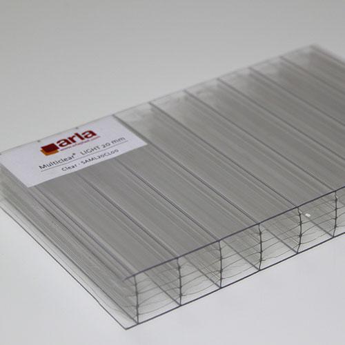 polycarbonate multi clear light sheet